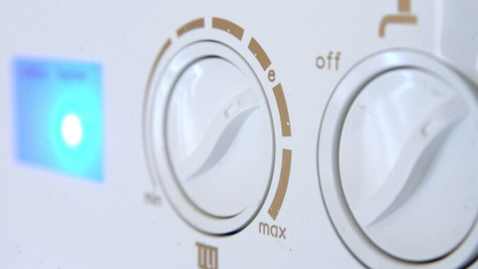 File photo dated 22/01/15 of controls on a domestic gas boiler.