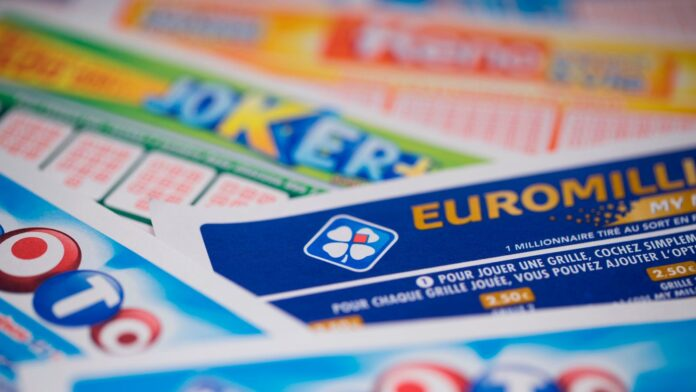 View of severals Loto, Euromillions, Joker, Keno grids by Francaise des Jeux (FDJ), the operator of France's national lottery games taken on March 27, 2018 in Paris. (Photo by JOEL SAGET / AFP)        (Photo credit should read JOEL SAGET/AFP/Getty Images)