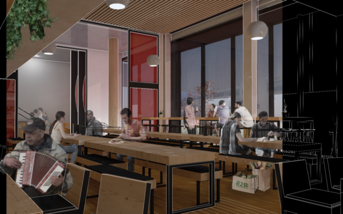 Concept of the cafe.