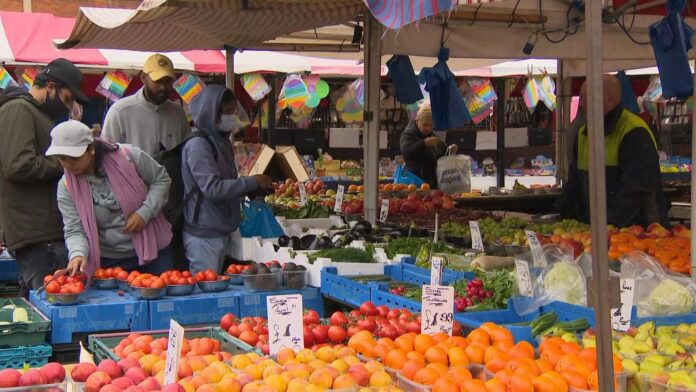Sky News visited Northampton market to find out how young people are being affected by the cost of living crisis